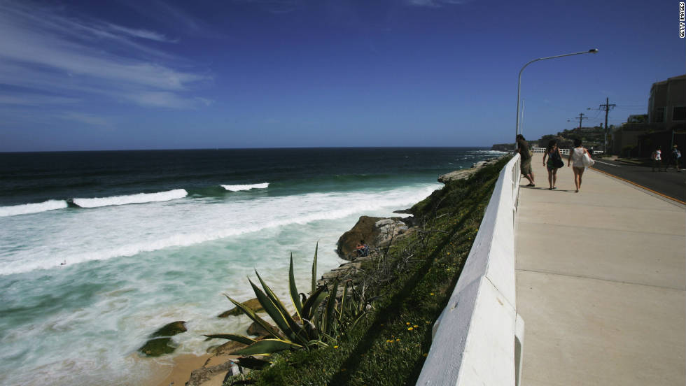 The Bondi to Bronte walk along the cliff tops of the eastern suburb beaches is a must.