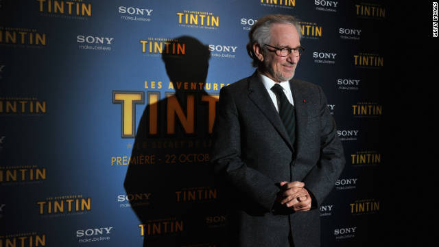 Steven Spielberg attended 'TINTIN: The Secret Of The Unicorn' premiere at Le Grand Rex  in 2011 in Paris, France.