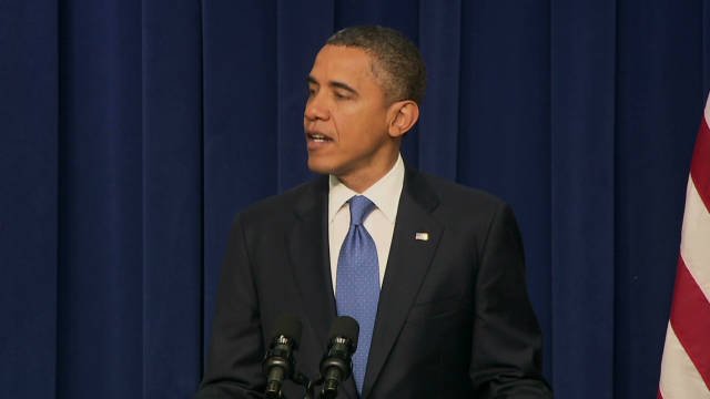 Obama: End of war 'historic' moment