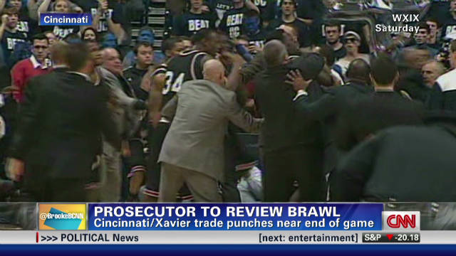 Prosecutor to review UC-Xavier brawl