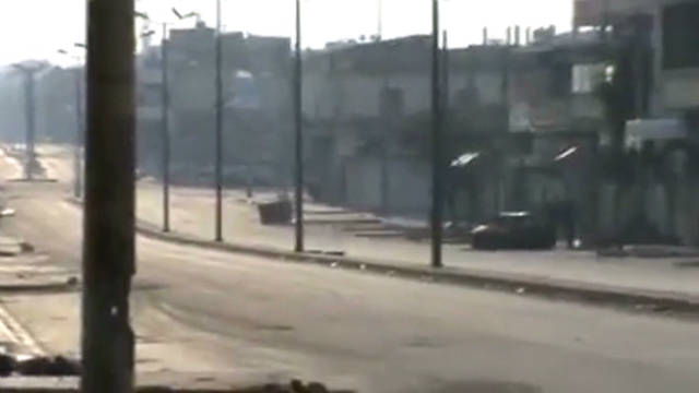 Report: People on edge in Homs, Syria