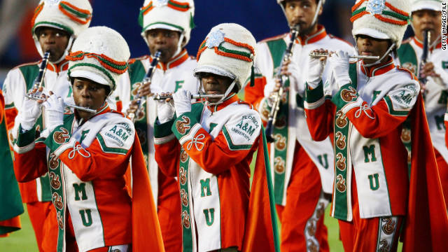 A new allegation of hazing in connection with Florida A&M's Marching 100 band has arisen.