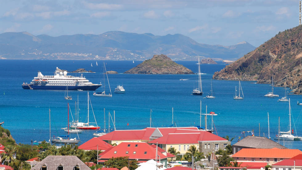 Spend New Year's Eve partying in Gustavia Harbor on board a SeaDream cruise.