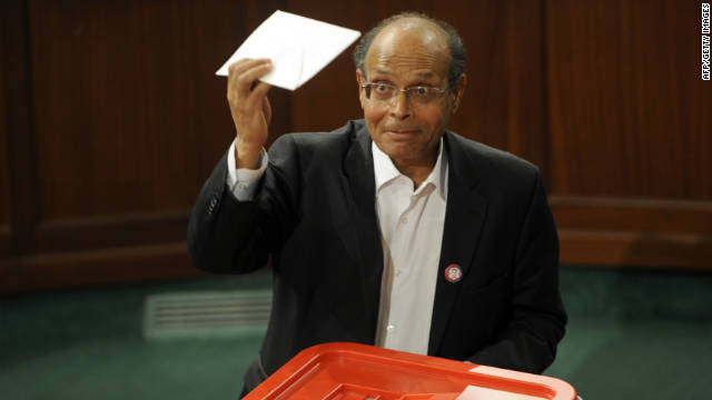 Moncef Marzouki has been sworn in as Tunisia's new president. He is well-known for his firebrand style and his opposition to the old regime.