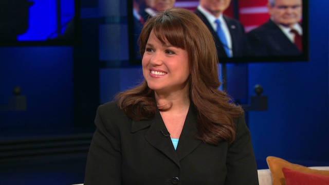 Christine O'Donnell endorses Mitt Romney