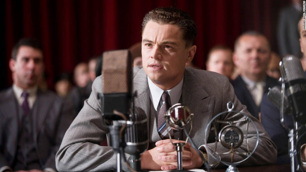 "Leonardo DiCaprio, ""J. Edgar""; Demian Bichir, ""A Better Life""; George Clooney, ""The Descendants""; Jean Dujardin, ""The Artist""; Brad Pitt, ""Moneyball"""