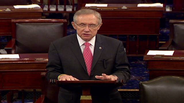 Reid presumes Gingrich will be nominee