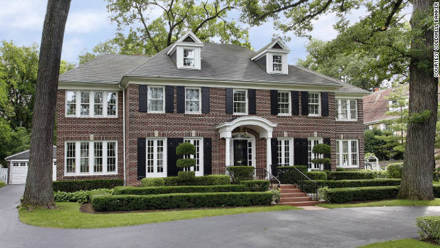 "Fans can own a piece of ""Home Alone."" The house featured in the movie is for sale."