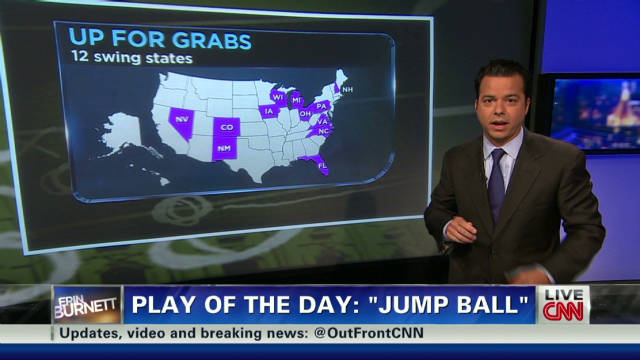 'Jump ball' for swing states