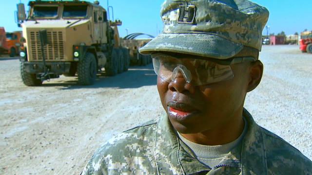 'Lost Boy' helping to wrap Iraqi war