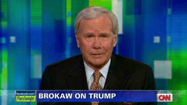 Brokaw: Bigger issues than Trump debate