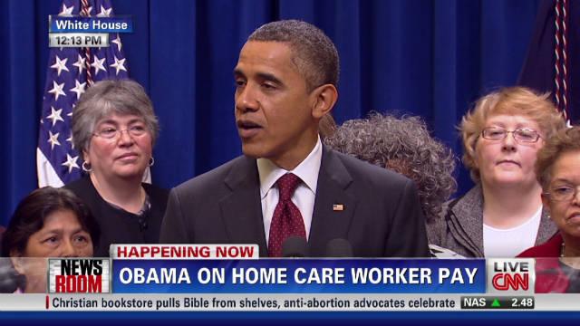 Obama: No payroll tax cut, no vacation