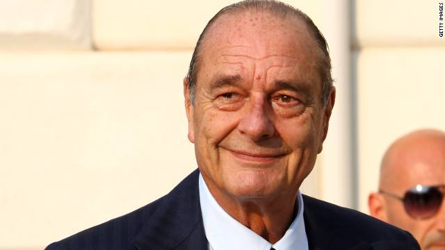 Jacques Chirac attends the opening of the new Contemporary Art Centre - Francois Pinault Foundation on June 4, 2009 in Venice