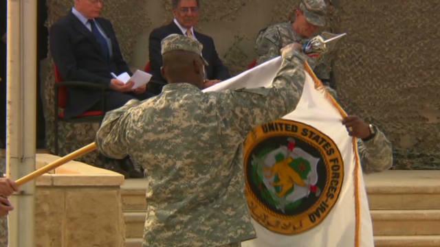 U.S. forces end Iraq operation