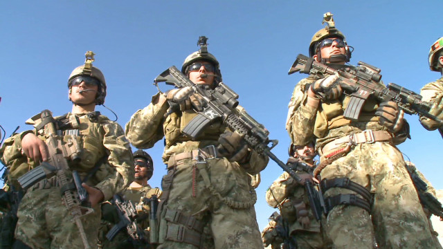 NATO forces train Afghan troops