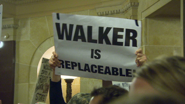 Wisconsin's governor could face recall