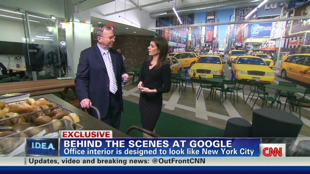 First ever look inside Google New York