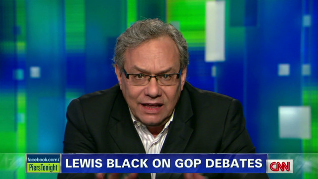 Lewis Black pokes fun at Trump, Cain