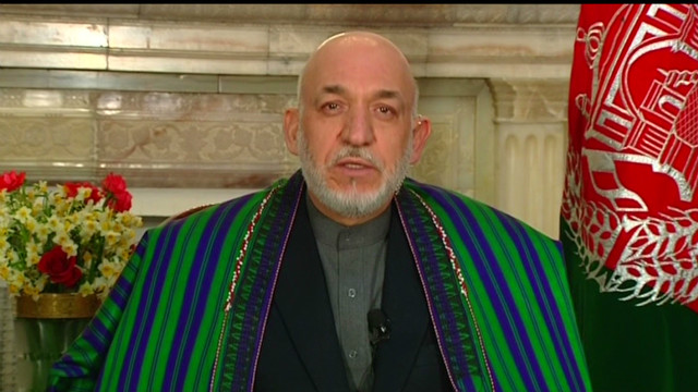Afghan Hamid Karzai on NATO
