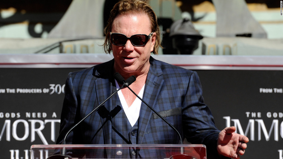 "Mickey Rourke has never been shy about speaking his mind, and he certainly wasn't when talking about his role in ""Iron Man 2."" Four days before the movie's release in 2010 he said, ""I have no idea what's in the movie or what it's about."" Then in an interview last month, Rourke said, ""Unfortunately, the [people] at Marvel just wanted a one-dimensional bad guy, so most of the performance ended up the floor."""