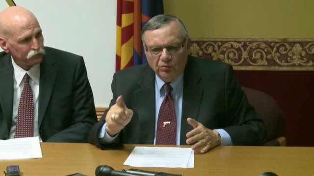Arpaio under federal fire