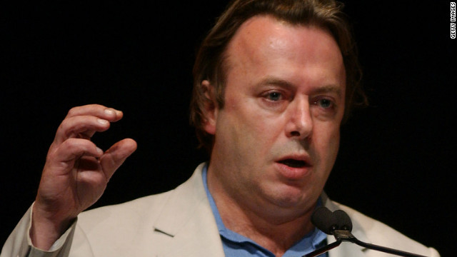 Writer Christopher Hitchens, pictured in 2004, has died from complications of esophageal cancer at the age of 62.