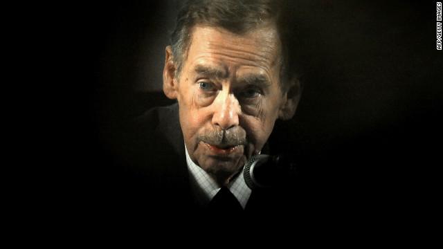 Former Czech President Vaclav Havel dies