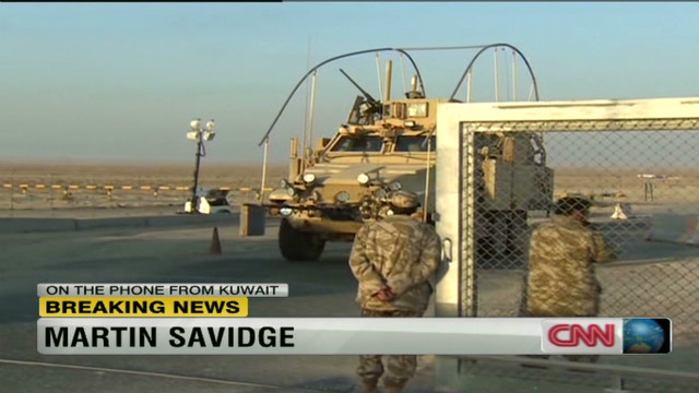 U.S. troops' mission in Iraq ends