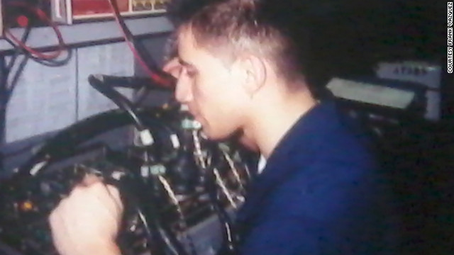 Veterans Across America helped Frank Vasquez find work. He had served in the Navy as an electronic technician.