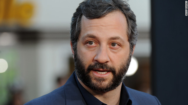 """I thought it would be rude to make it all about me,"" Judd Apatow said about the ""Bridesmaids"" Golden Globe nomination."