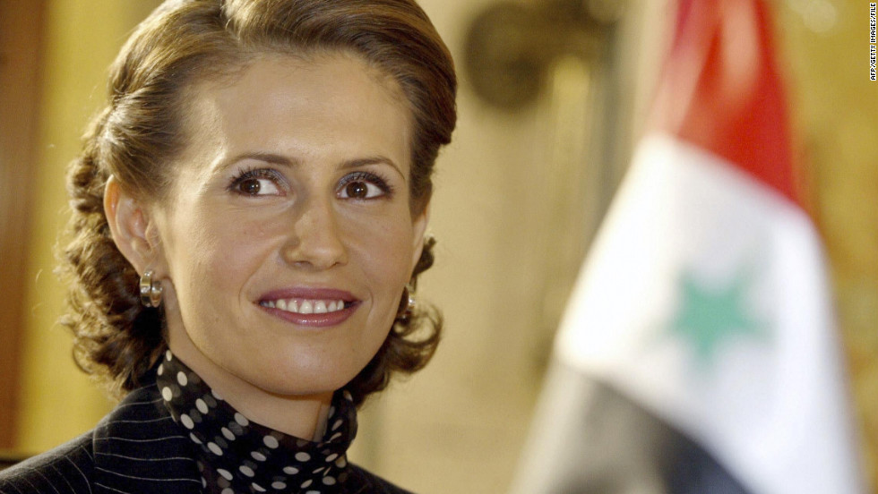 The first lady attends an Arab women and war conference on March 8, 2004, - 111219074856-asma-al-assad-01-horizontal-large-gallery