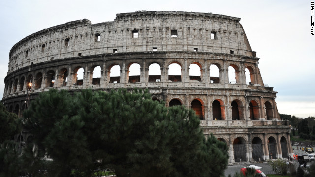 The Colosseum in Rome, pictured December 2010, when Diego Della Valle of luxury brand Tod's put in a bid to restore the site.