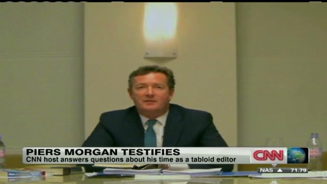 Morgan wraps UK phone hacking testimony