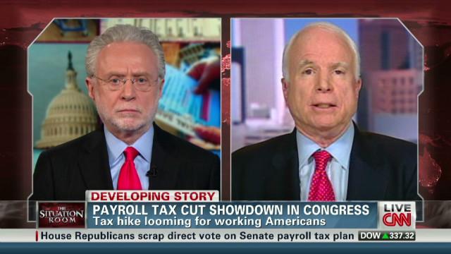 McCain: Payroll tax standoff harming GOP