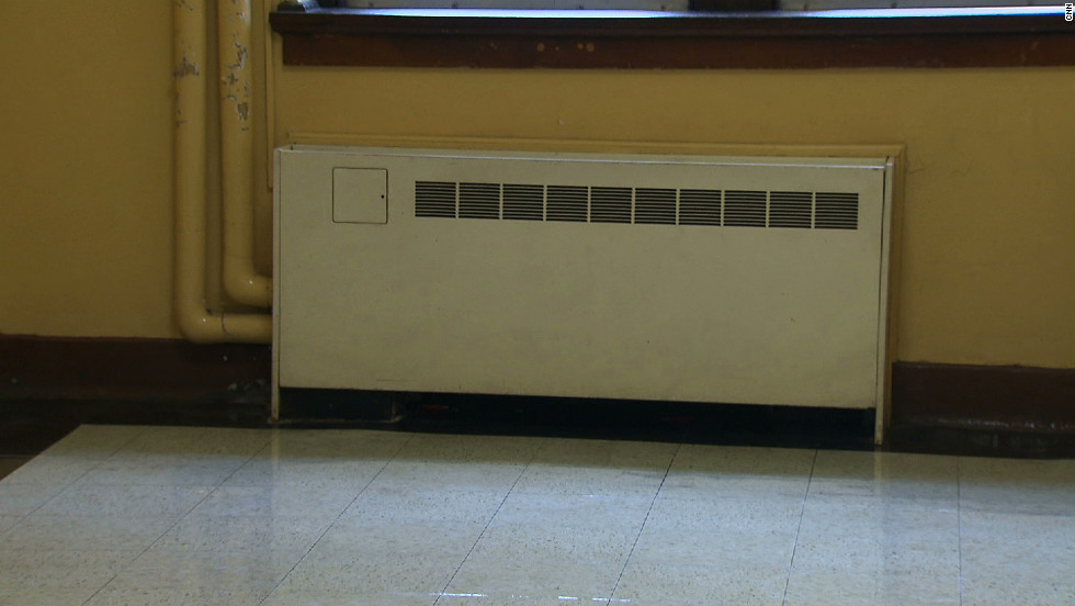 Papers or books can block vents for classroom heating and air conditioning units, reducing air flow and possibly causing condensation, which can lead to mold. In portable classrooms, heating/AC units should remain on. Teachers sometimes shut them off to cut noise, but this limits fresh air and reduces air quality.