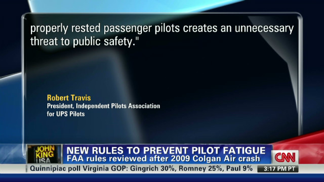 FAA orders more rest for pilots