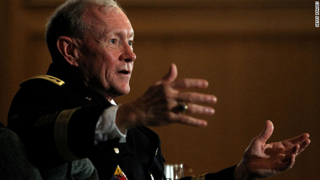 Gen. Martin Dempsey says Iran is playing a dangerous game that could incite a renewed nuclear arms race.
