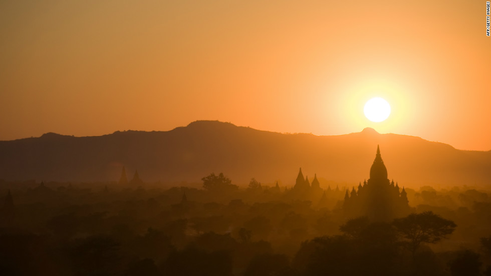 """Bagan is home to thousands of temples and pagodas in Myanmar. The Southeast  Asian country is """"really as close to authentic and unspoiled as you can get in that part of the world,"""" one travel expert says."""