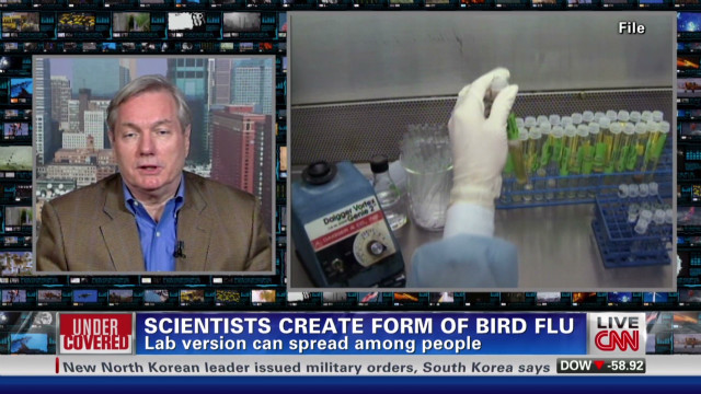 2011: Bird flu tests as terror threat?