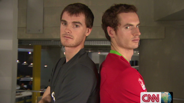 Jamie Murray interviews Andy