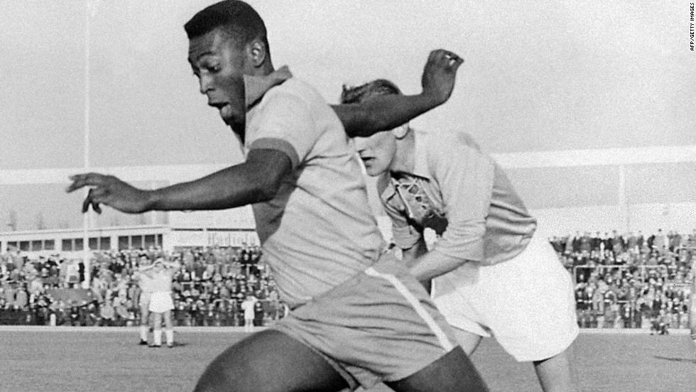 Football historian Richard McBrearty believes Watson paved the way for future stars such as Brazilian legend Pele.