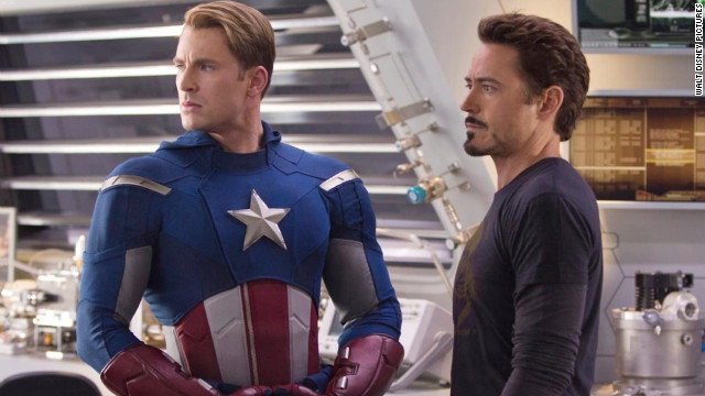 "A still from ""The Avengers."""