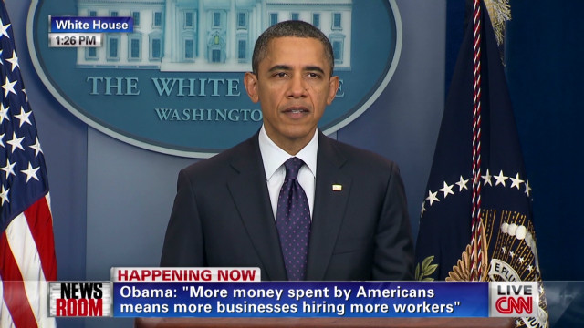 Obama comments on tax cut extension