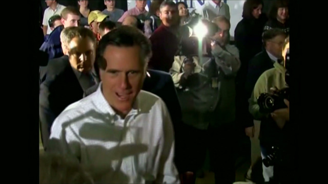 Romney back In the spotlight