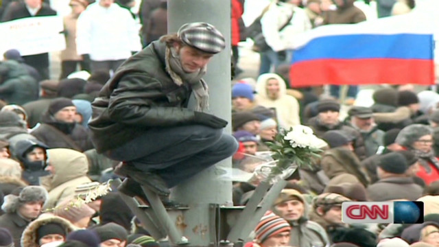 Russia election protests are reminiscent