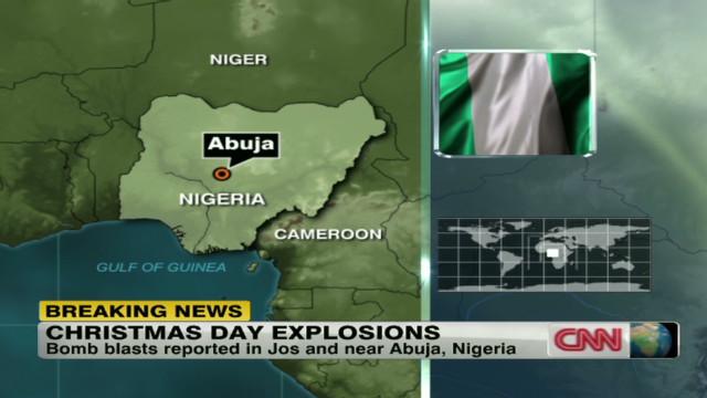 Christmas Day bomb blast in Nigeria