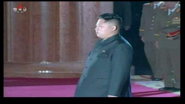North Korean transition of power