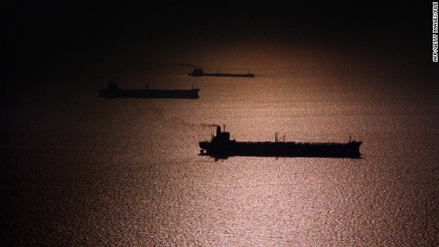 The U.S. is taking action against three firms in Asia over oil deals with Iran.