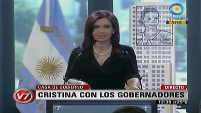 Cristina Kirchner habla de su cáncer