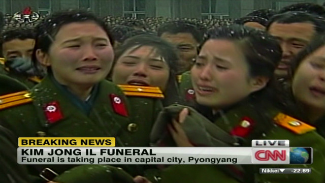Analyzing North Korean mourning